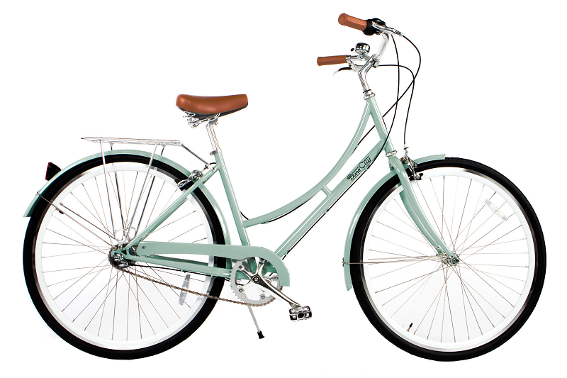 Le v lo de femme crosby de pure city chic et vintage sur for Velo elliptique piscine
